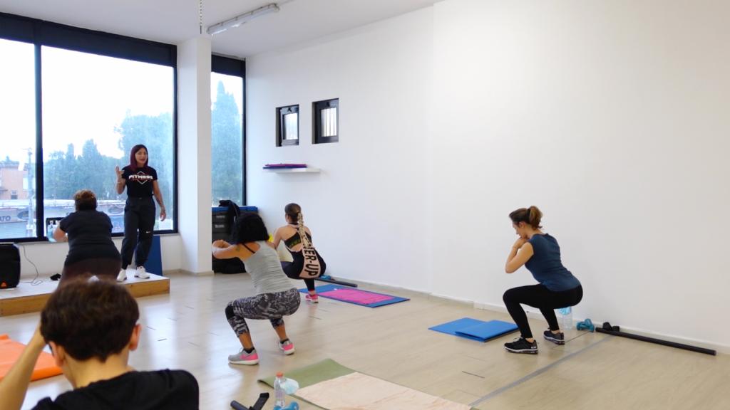 lezione fitness donne - donne informa - workout